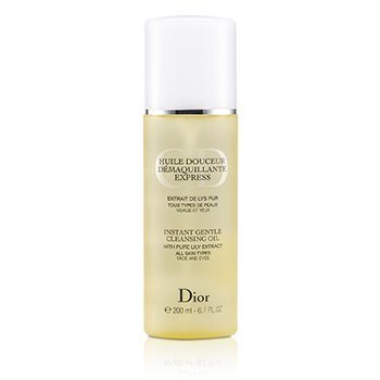 Christian Dior Instant Gentle Cleansing Oil  200ml/6.7oz