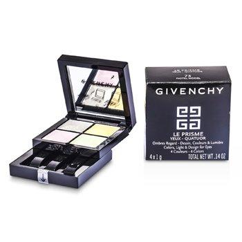 Givenchy Paleta czterech cieni do powiek Le Prisme Yeux Quatuor - #73 Pastel Model  4x1g/0.14oz