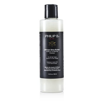 Philip B African Shea Butter Gentle & Conditioning Shampoo (For All Hair Types, Normal to Color-Treated)  350ml/11.8oz