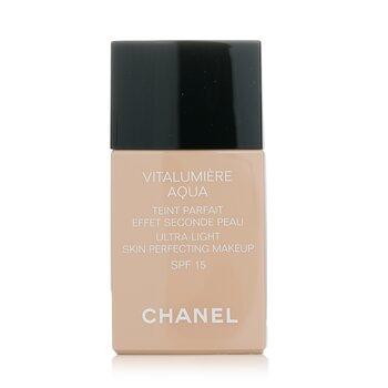 Chanel  Vitalumiere Aqua Ultra Trang Điểm Làn Da Hoàn Hảo SPF 15 - # 40 Beige  30ml/1oz