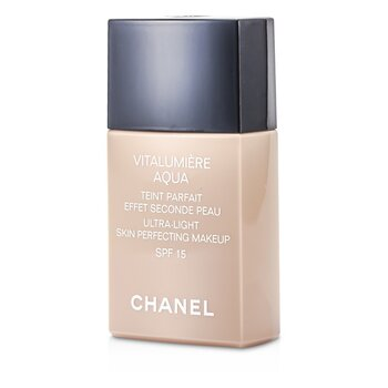 Chanel Vitalumiere Aqua Ultra Light Skin Perfecting Make Up SFP 15 - # 40 Beige  30ml/1oz