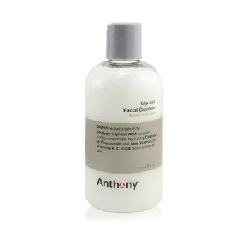 Anthony Logistics For Men Glycolic Facial Cleanser  237ml/8oz