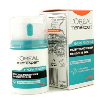 L'Oreal Men Expert Hydra Sensitive Crema Hidratante Multi-Protección 24 HR  50ml/1.6oz