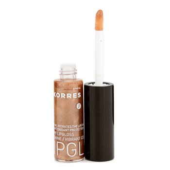 Korres Cherry Lip Gloss - #37 Golden Brown  6ml/0.2oz