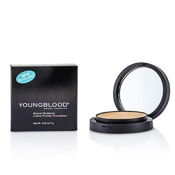Youngblood Mineral Radiance Base de Maquillaje Polvos Crema - # Honey  7g/0.25oz