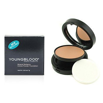 Youngblood Mineral Radiance Creme Powder Foundation - # Neutral  7g/0.25oz