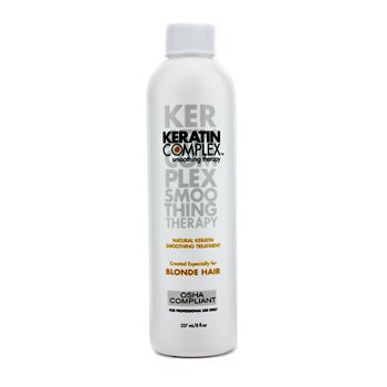 Keratin Complex Smoothing Therapy Natural Keratin Tratamiento Alisante  (Para Cabello Rubio)  237ml/8oz