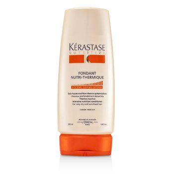 Kerastase Nutritive Fondant Nutri-Thermique Thermo-Reactive Intensive Nutrition Condicionador ( Para cabelos muito secos e sensibilizados)  200ml/6.8oz
