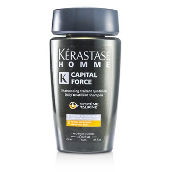 Kerastase Homme Capital Force Daily Treatment Shampoo (Densifying Effect)  250ml/8.5oz