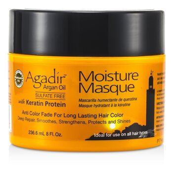 Agadir Argan Oil Keratina Proteína Mascarilla Hidratante ( Anti Pérdida Color para Color Cabello Duradero, Ideal para Usar en Todo Tipo de Cabello )   236.6ml/8oz