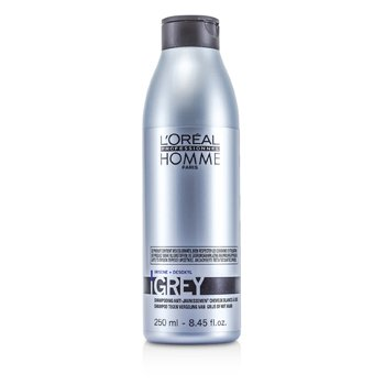 L'Oreal Professionnel Homme Grey Shampoo  250ml/8.45oz
