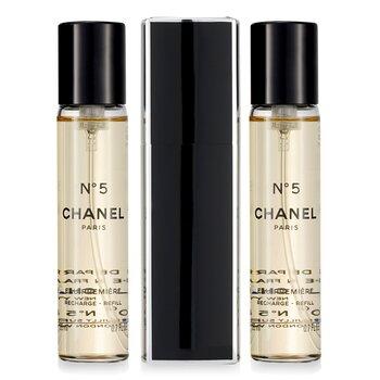 Chanel No.5 Eau Premiere Парфюм Спрей за Дамска Чанта и 2 Пълнителя  3x20ml/0.7oz