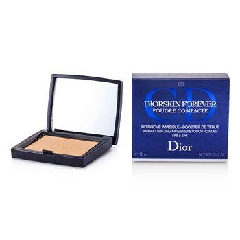 Christian Dior DiorSkin Forever Wear Extending Polvo Retoque Invisible SPF 8 - # 003 Transparent Deep  12g/0.42oz
