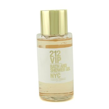 Carolina Herrera 212 VIP Bath & Shower Gel  200ml/6.75oz