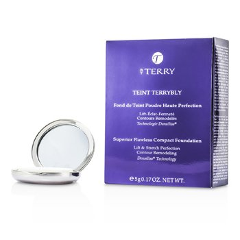 By Terry Teint Terrybly Superior Flawless Compact Foundation - #4 Sunlight Amber  5g/0.17oz