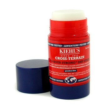 Kiehl's Cross-Terrain Deodorant Solid Puternic 24 Ore  75ml/2.5oz