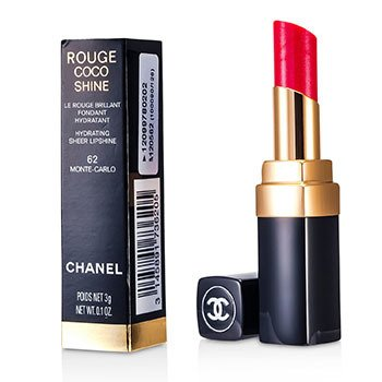 Chanel Rouge Coco Shine Hydrating Sheer Lipshine - # 62 Monte Carlo  3g/0.1oz