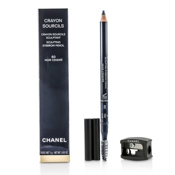 Chanel Crayon Sourcils Sculpting Eyebrow Pencil - # 60 Noir Cendre  1g/0.03oz