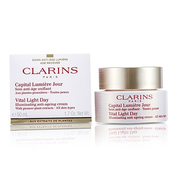 Clarins Vital Light Day Illuminating Anti-Aging Cream  50ml/1.7oz