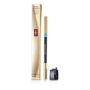 Yves Saint Laurent Dessin Du Regard Long Lasting Eye Pencil - No. 9 (Turqnoise)  1.25g/0.04oz