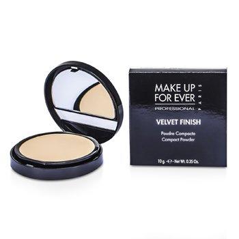 Make Up For Ever Velvet Finish Polvos Compactos - #1 ( Ivory )  10g/0.35oz