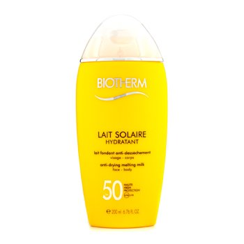 Biotherm Lait Solaire SPF 50 UVA/UVB Protection Melting Milk  200ml/6.76oz