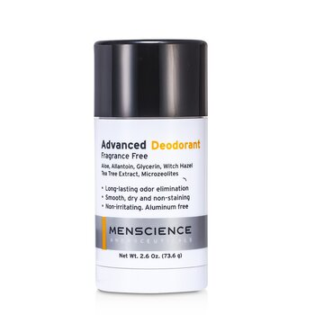Menscience Advanced Deodoran - Bebas Pewangi  73.6g/2.6oz