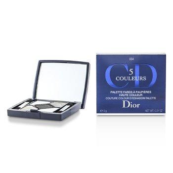 Christian Dior 5 Color Couture Colour Eyeshadow Palette - No. 034 Gris Gris  6g/0.21oz