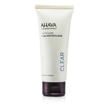 Ahava Time To Clear Facial Mud Exfoliator  100ml/3.4oz