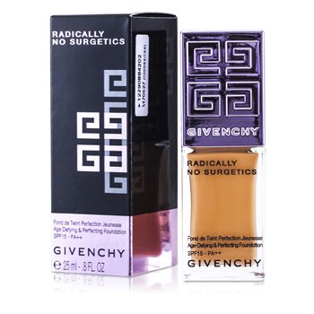 Givenchy Radically No Surgetics Age Defying & Perfecting Base Maquillaje Perfeccionadora SPF 15 - #5 Radiant Sienne  25ml/0.8oz