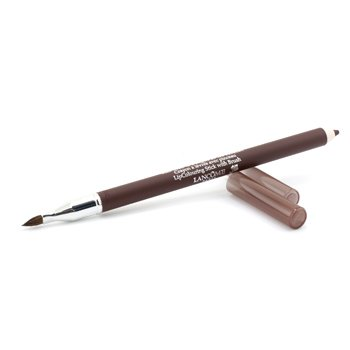 Lancome مداد حالت دهنده لب با برس Le Lipstique - قهوه ای شکلاتی (بدون بسته بندی، نمونه امریکایی) (US Version)  1.2g/0.04oz