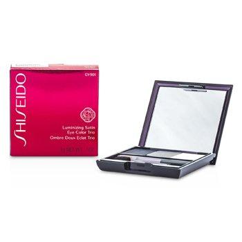 Shiseido Trío Color de Ojos Satinados Iluminadores - # GY901 Snow Shadow  3g/0.1oz