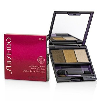 Shiseido Trío Color de Ojos Satinados Iluminadores - # BR307 Strata  3g/0.1oz