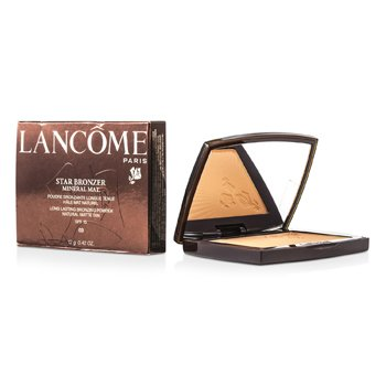 Lancome Star Bronzer Mineral Mat Long Lasting Bronzing Powder SFP15 (Natural Matte Tan) - # 03 Naturel Bronze  12g/0.42oz
