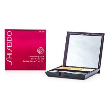 Shiseido Trío Color de Ojos Satinados Iluminadores - # BR209 Voyage  3g/0.1oz