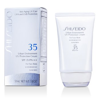 Shiseido Urban Environment UV Protection Crema SPF 35 PA+++ ( For Face & Body )  50ml/1.8oz