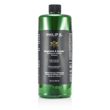 Philip B Peppermint & Avocado Champú Aclarador y Volumen  947ml/32oz