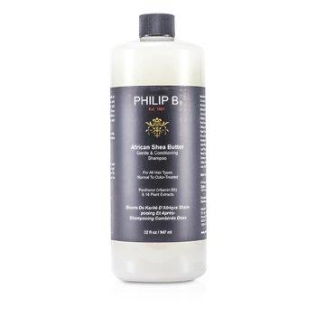 Philip B Šampon s africkým bambuckým máslem African Shea Butter Gentle & Conditioning Shampoo  947ml/32oz
