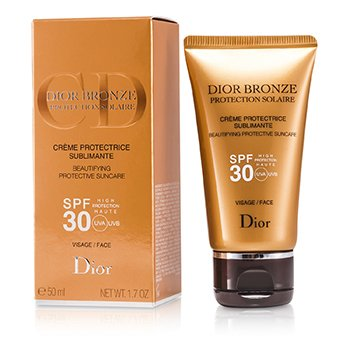 Christian Dior Dior Bronze Beautifying päikesekaitse SPF 30 näole  50ml/1.7oz