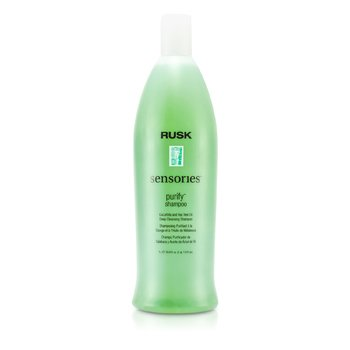 Rusk Sensories Purify Cucurbita and Tea Tree Oil Deep Cleansing Shampoo  1000ml/33.8oz