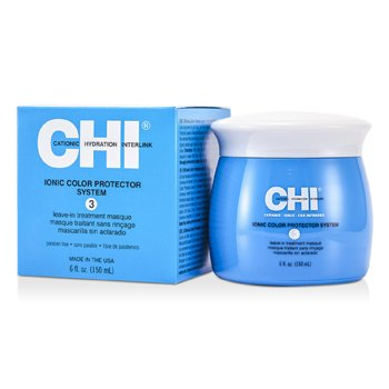 CHI Ionic Color Protector System 3 Leave In Treatment Masque  150ml/6oz