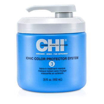 CHI Ionic Color Protector System 3 Leave In Treatment Masque  16oz