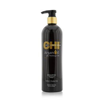 CHI Argan Oil Plus Moringa Oil Shampoo - Sulfate & Paraben Free  739ml/25oz
