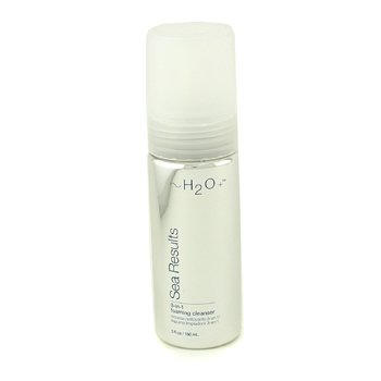 H2O+ Sea Results 3 in 1 Foaming Cleanser  150ml/5oz