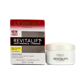 L'Oreal Creme RevitaLift Anti-Wrinkle + Creme Firming Day Cream SPF 18  48g/1.7oz