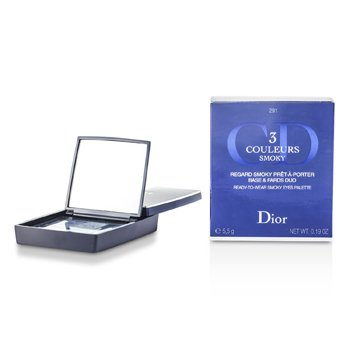 Christian Dior 3 Couleurs Smoky Ready To Wear Paleta Ojos - # 291 Smoky Navy  5.5g/0.19oz