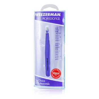 Tweezerman Professional Slant Tweezer - Blooming Lilac  -