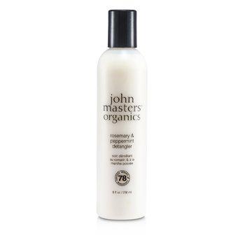John Masters Organics Δεντρολίβανο και Μέντα για Εύκολο Ξεμπέρδεμα  236ml/8oz