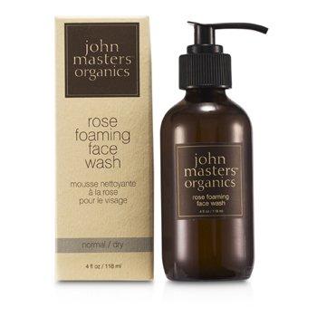 John Masters Organics Jabón Facial Espumoso de Rosa (Para Piel Normal/Seca)  118ml/4oz