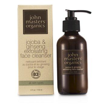 John Masters Organics Jojoba & Ginseng Exfoliating Face Cleanser  118ml/4oz